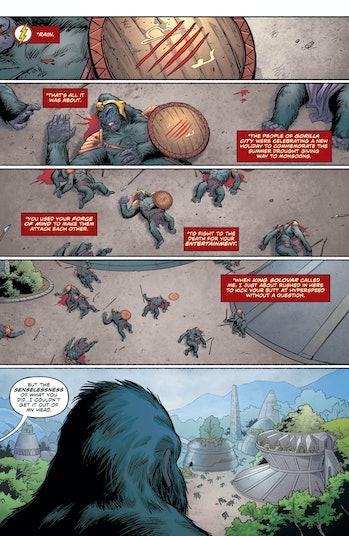 DC The Flash Gorilla Grodd Beach Blanket Special