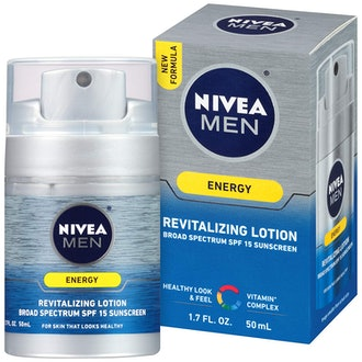 NIVEA Men Energy Lotion Broad Spectrum SPF 15 Sunscreen