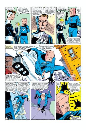 Spider-Man Bombastic Bag Man Fantastic Four