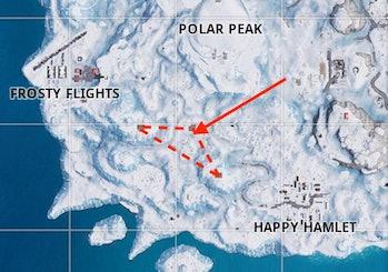 'Fortnite' Search Between Three Ski Lodges