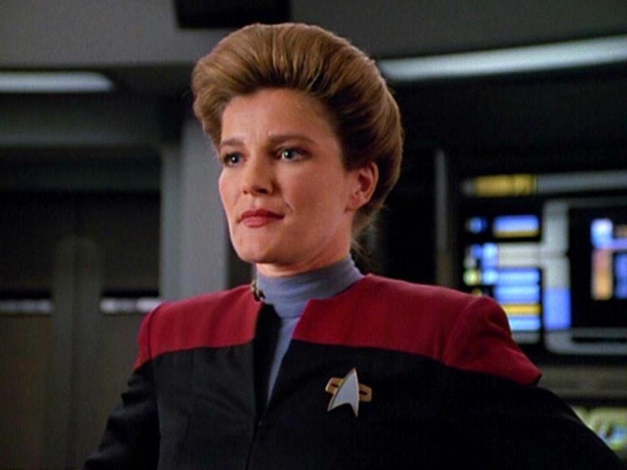 Kate Mulgrew as Captain Janeway