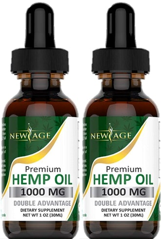 New Age Hemp Oil Extract for Pain & Stress Relief