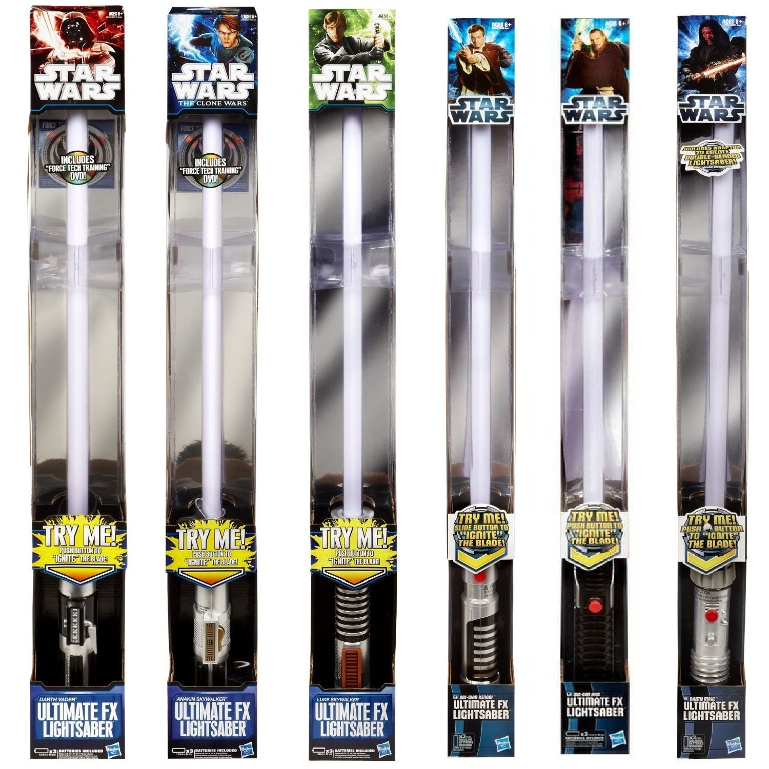 The Entire History Of Star Wars Lightsaber Toys In 12 Images