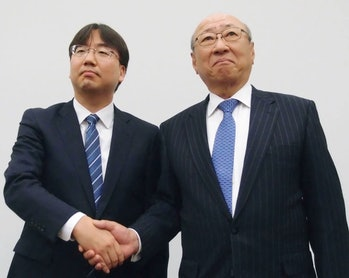 nintendo president Shuntaro Furukawa