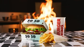 Burger King's 50/50 menu.