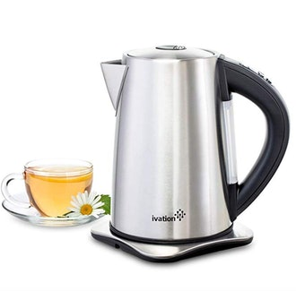 Ivation Stainless Steel Temperature Controlled Electric Tea Kettle