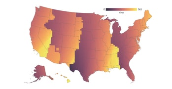time zone map light