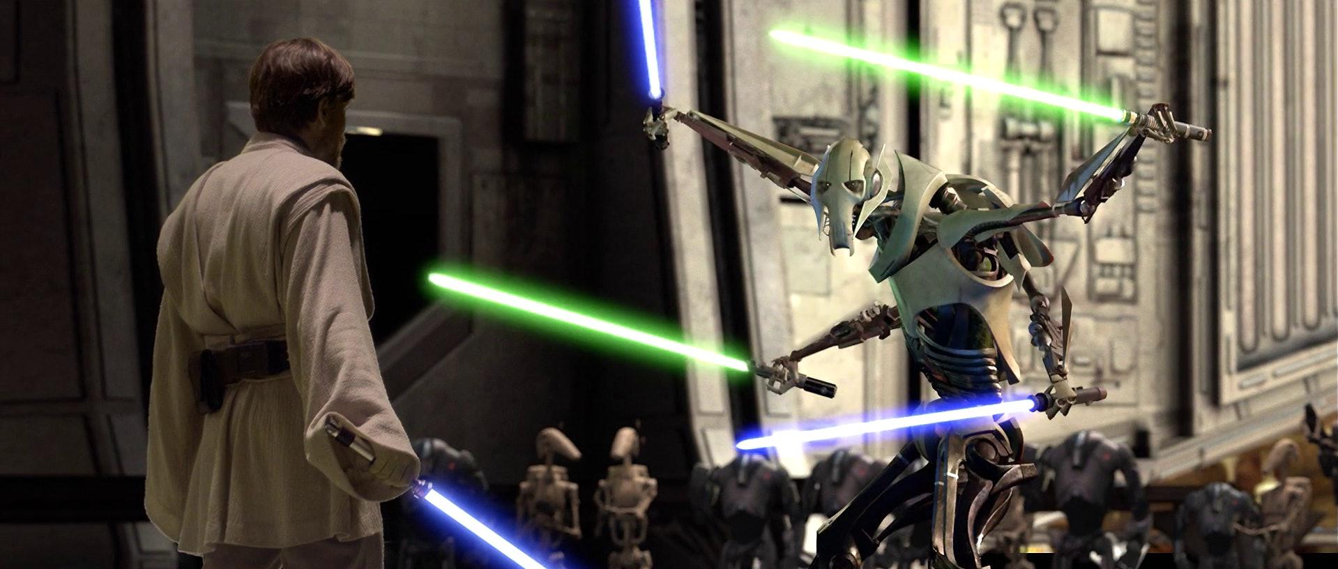 Obi-Wan Kenobi vs.General Grievous
