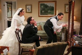 Sheldon Amy wedding Big Bang Theory