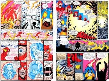 The Flash Season 4 Crisis Savitar