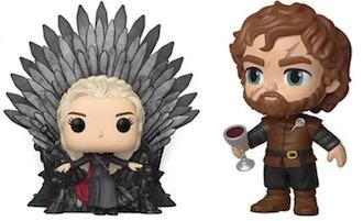 Game of Thrones Daenerys w/ Iron Throne Deluxe Pop! Vinyl Figure