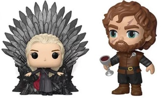 Game of Thrones Daenerys w/ Iron Throne Deluxe Pop! Vinyl Figure