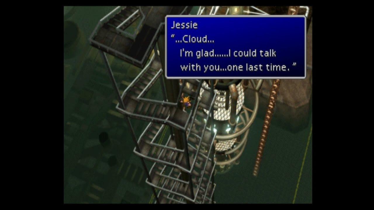 final fantasy 7 jessie death