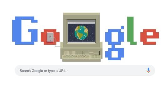 google doodle world wide web birthday