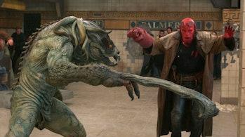 Brian Steele asSammael in 'Hellboy'
