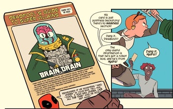 Page from Marvel's Unbeatable Squirrel Girl