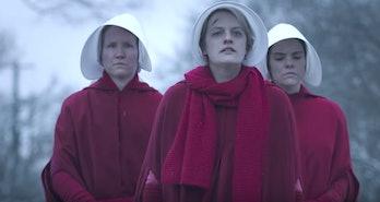 Elizabeth Moss in 'The Handmaid's Tale'