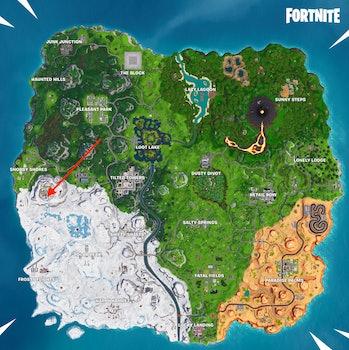 Fortnite Week 8 Discovery map