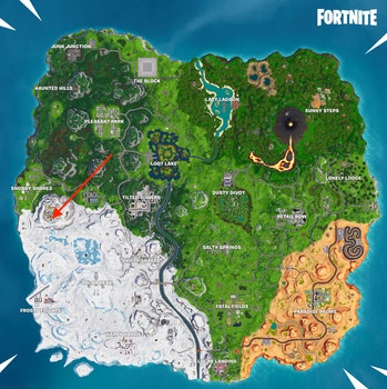Fortnite Week 8 Discovery map