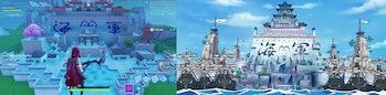 fortnite creative mode one piece anime