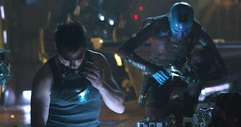 Tony Stark and Nebula 'Avengers: Endgame'