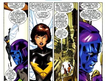 Avengers Endgame Forever Time Travel Kang the Conquerer