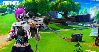 The Heavy Sniper Rifle in 'Fortnite'.