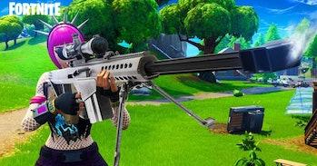 The Heavy Sniper Rifle in 'Fortnite'.