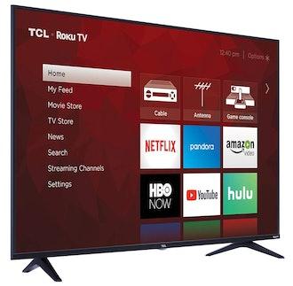 TCL 55S517 55-Inch 4K Ultra HD Roku TV