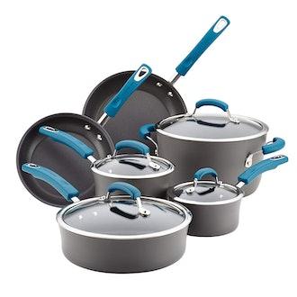 Rachael Ray Hard-Anodized Aluminum Nonstick Cookware Set