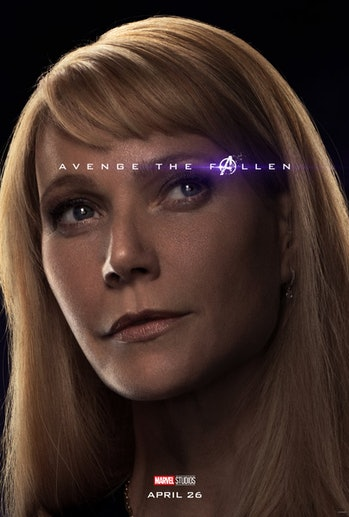 Avengers Endgame Pepper Potts