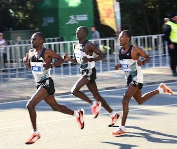 distance running hypothesis