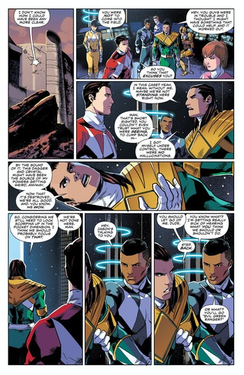 Power Rangers Comic