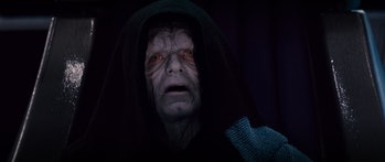 Palps was never scarier than in this one scene.
