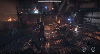Marvel's avengers a-day captain america