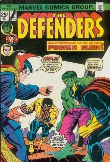 The Defenders Luke Cage first appearance
