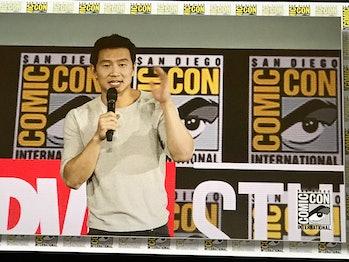 Simu Liu Shang-Chi Comic-Con