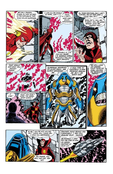 Crisis on Infinite Earths Marv Wolfman George Perez