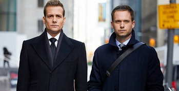 Gabriel Macht and Patrick J. Adams in 'Suits'