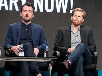 'Documentary Now!' creator/executive producer/director Rhys Thomas and executive producer/director Alex Buono.