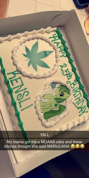Moana or marijuana?