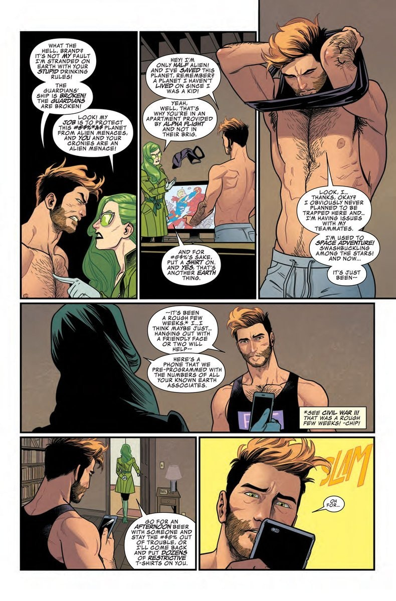 Preview from Marvel's Star-Lord #1