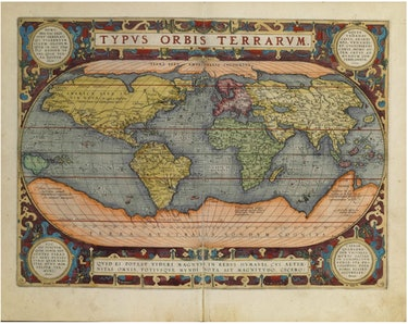 Abraham Ortelius World Map