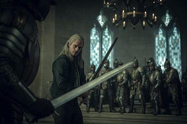 The Witcher Netflix Geralt vs Duny Law of Surprise