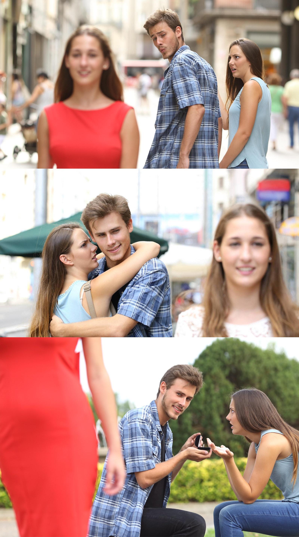 disloyal boyfriend