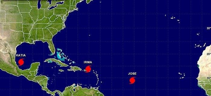 irma jose katia hurricane