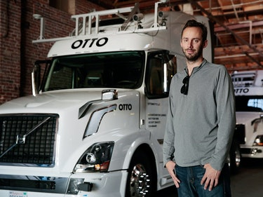 Levandowski during his days at Otto.