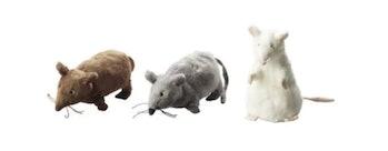 ikea stuffed mice