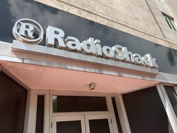 Radio Shack Sign Miami Beach