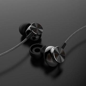 Betron BS10 Earphones Headphones, Powerful Bass Driven Sound